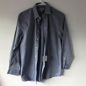 Nordstrom Blue Striped Shirt Boys Size 16
